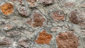 石墙作为背景或纹理 免版税库存图片