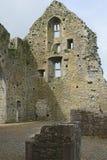 石墙和窗口, Hore修道院, Cashel, Co Tipperary 免版税库存照片