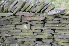 石墙在英国 免版税库存照片