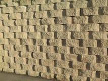 石墙块 免版税图库摄影