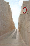 石墙方式 库存照片