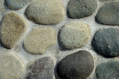 石墙样式。 库存图片