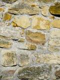 石墙的纹理 免版税库存照片