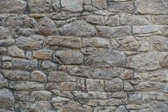 石墙石头背景的不同的类型和大小 免版税图库摄影