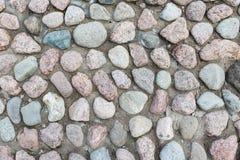 石墙纹理岩石 库存图片