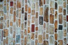 石墙纹理照片背景 免版税库存图片