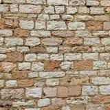 石墙纹理背景 免版税库存照片