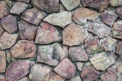 石墙纹理背景 免版税图库摄影