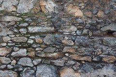 石墙纹理, Naturel光 免版税库存照片