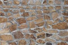 石墙纹理/背景 免版税库存照片