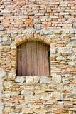 石墙纹理 免版税库存图片