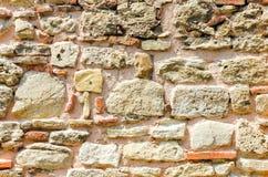 石墙纹理 库存图片