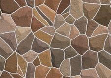 石墙纹理  图库摄影