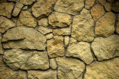 石墙纹理rocl背景 免版税库存照片
