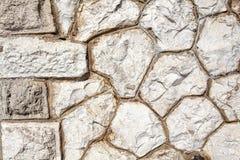 石墙装饰表面的样式 库存图片