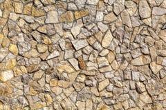 石墙装饰表面的样式 图库摄影