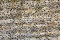 石墙装饰表面的样式 免版税图库摄影
