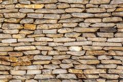 石墙装饰表面的样式 库存照片