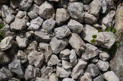 石墙,石地板,石头,材料,建筑 免版税库存照片