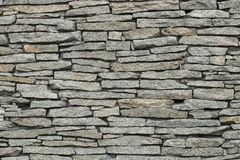 石墙,砖砌,石头,灰色,背景 免版税库存图片