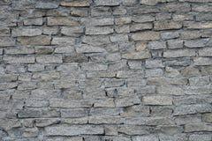 石墙,砖砌,石头,灰色,背景 免版税图库摄影