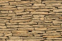 石墙,砖砌,石头,褐色,背景 库存图片