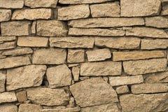 石墙,砖砌,石头,褐色,背景 免版税库存照片