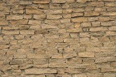 石墙,砖砌,石头,褐色,背景 免版税库存图片