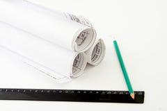 石墨的铅笔 免版税库存图片