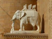 石大象, Jaisalmer 库存照片