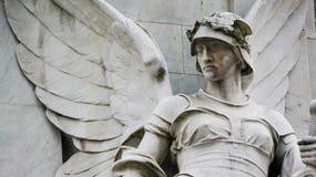 石天使雕象  库存照片