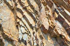 石头五颜六色的被仿造的纹理  库存照片