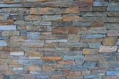 石头分层堆积背景 免版税库存照片