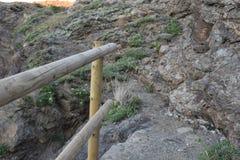 石头和木头 图库摄影