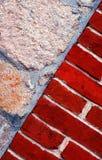 石头和砖 免版税图库摄影
