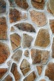 石头构造视图 免版税库存图片