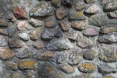 石头由灰色水泥用了水泥涂 ?? 库存图片