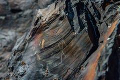 石头的古代北欧文字的职员 图库摄影