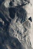 石头类似月亮的表面 免版税库存照片