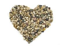 石头般的心 库存照片