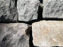 石头阻拦背景 免版税图库摄影