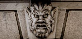石头面具  免版税库存图片