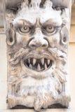 石头面具  免版税库存照片