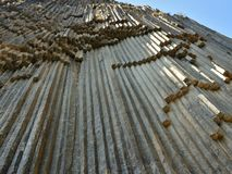 石头` Garni,亚美尼亚的地质交响乐 免版税库存照片