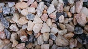 石小卵石背景 库存照片
