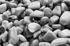 石小卵石 免版税库存图片