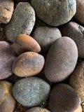 石岩石纹理背景 免版税图库摄影