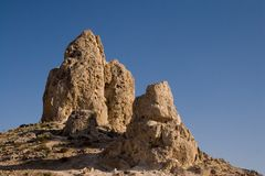 石峰天然碱 库存图片
