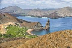 石峰岩石, Galapgos海岛 免版税库存照片