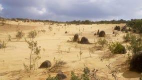 石峰的, WA沙漠 免版税库存图片